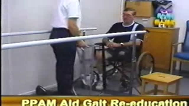 Amputee case study - PPAM aid, gait re-education