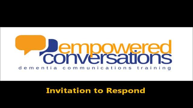 Empowered Conversations - Invitation to Respond