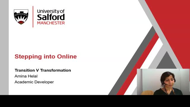 Stepping into Blended and Online Learning