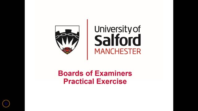 Boards of Examiners Practical