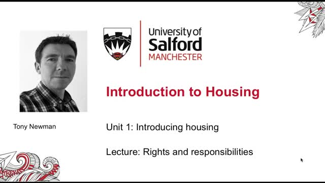 Unit 1, Lecture 7: Rights and responsibilities