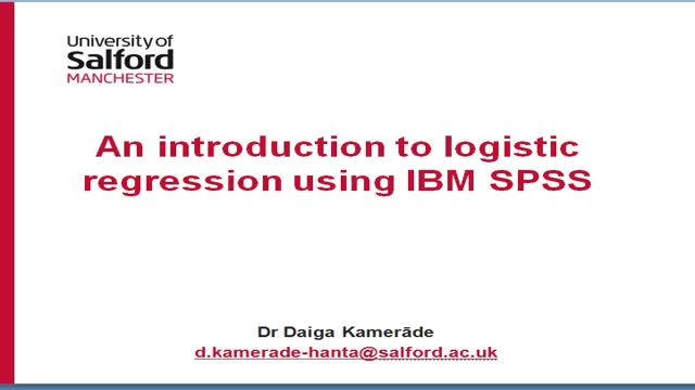 introduction to logistic regression pdf